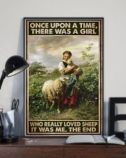 Farmer A Girl Who Really Loved Sheep  11x17 Poster lifestyle-poster-2