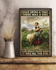 Farmer A Girl Who Really Loved Sheep  11x17 Poster lifestyle-poster-3