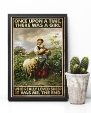 Farmer A Girl Who Really Loved Sheep  11x17 Poster lifestyle-poster-8