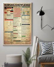 Nurse Nursing Knowledge 11x17 Poster lifestyle-poster-1