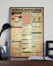 Nurse Nursing Knowledge 11x17 Poster lifestyle-poster-2