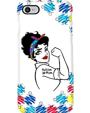 Autism Awareness Strong Autism Mom Phone Case i-phone-7-case