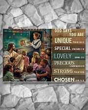 Teacher God Says You Are 17x11 Poster poster-landscape-17x11-lifestyle-13