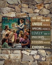 Teacher God Says You Are 17x11 Poster poster-landscape-17x11-lifestyle-16