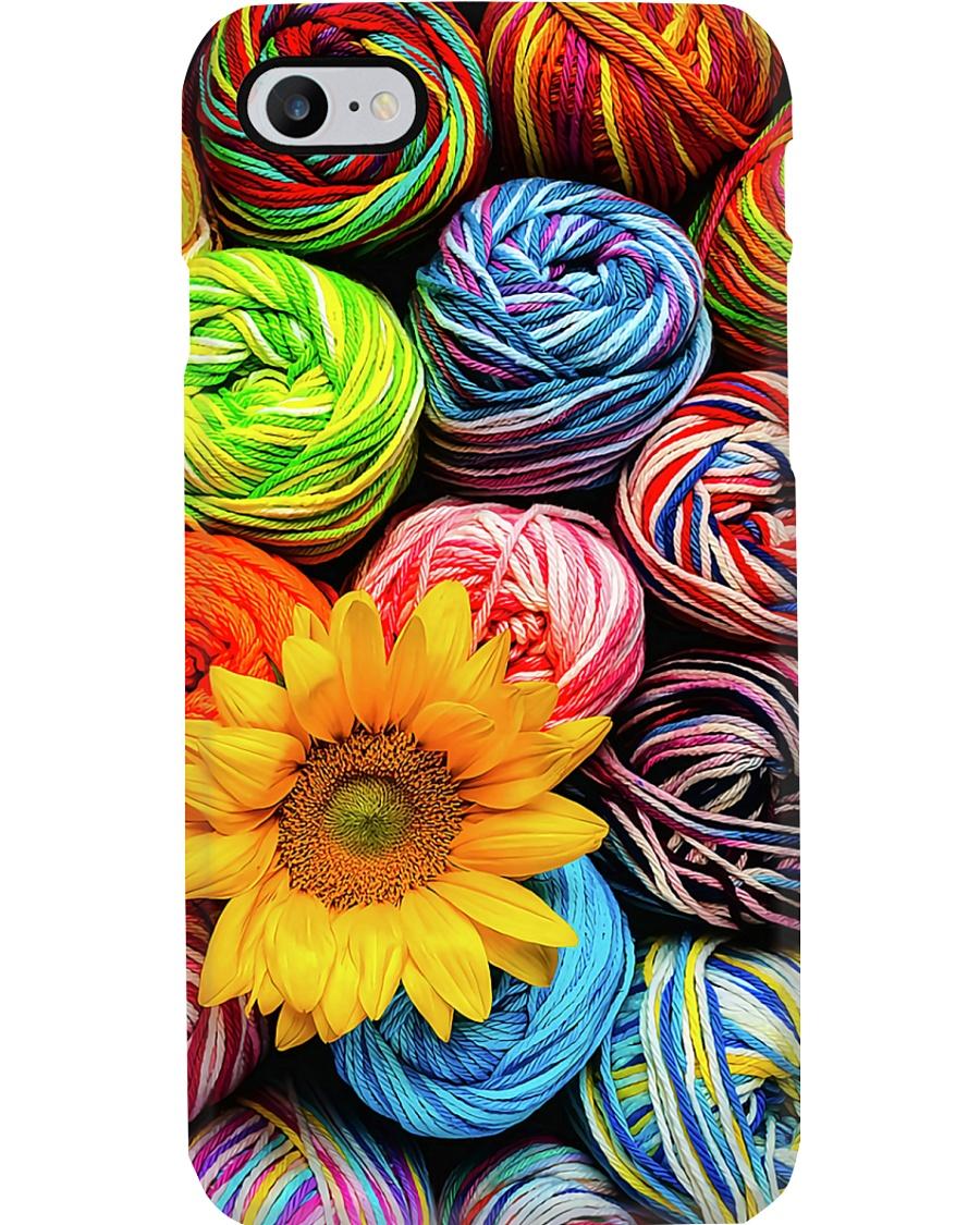 Crochet And Knitting Colorful Wool Yarn Balls Phone Case