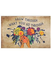 Social Worker Grow Through What You Go Through 17x11 Poster front