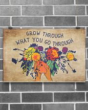 Social Worker Grow Through What You Go Through 17x11 Poster poster-landscape-17x11-lifestyle-18