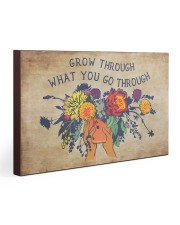 Social Worker Grow Through What You Go Through 30x20 Gallery Wrapped Canvas Prints thumbnail