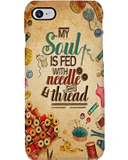 Sewing My Soul Is Fed With Needle And Thread Phone Case i-phone-7-case