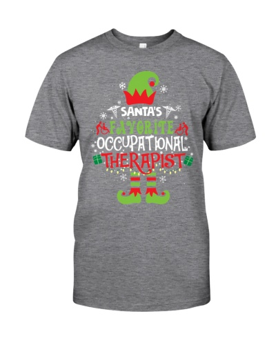 Santa's favorite Occupational Therapist Christmas