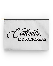 Contents: My Pancreas Diabetes Funny Accessory Pouch - Standard back