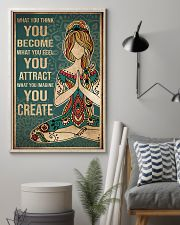 Yoga What You Think You Become 11x17 Poster lifestyle-poster-1