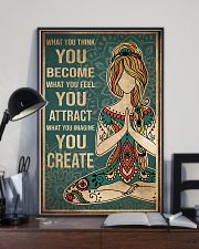 Yoga What You Think You Become 11x17 Poster lifestyle-poster-2