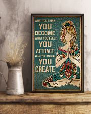 Yoga What You Think You Become 11x17 Poster lifestyle-poster-3