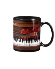 Violin with piano Mug tile