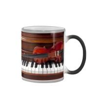 Violin with piano Color Changing Mug thumbnail