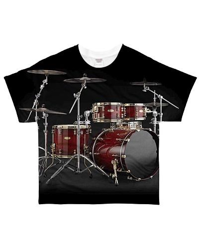 Drummer unique all over Tshirt