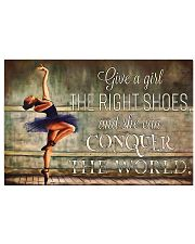 Ballet She Can Conquer The World 17x11 Poster front
