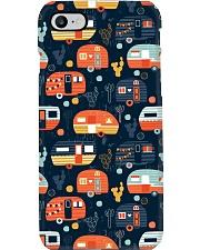 Camping Orange Rollers Phone Case i-phone-7-case