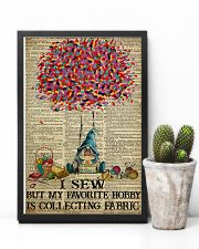 I Sew But My Favorite Hobby Is Collecting Fabric 11x17 Poster lifestyle-poster-8