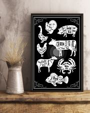 Chef - Butcher Diagram 11x17 Poster lifestyle-poster-3