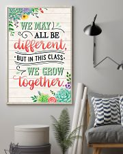 Teacher In This Class We Grow Together 11x17 Poster lifestyle-poster-1
