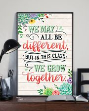 Teacher In This Class We Grow Together 11x17 Poster lifestyle-poster-2
