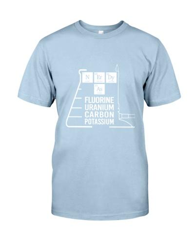 Chemist fluorine uranium carbon potassium