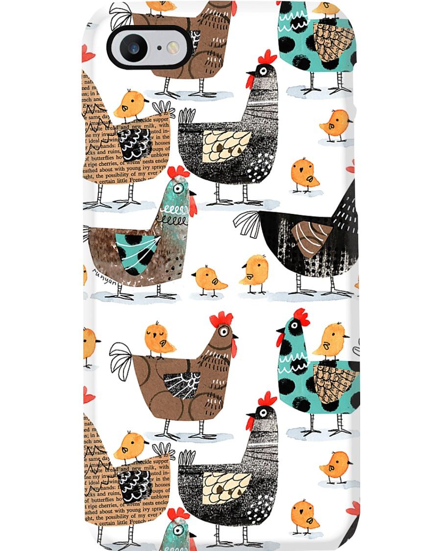 Farmer Chicken Farm Phone Case