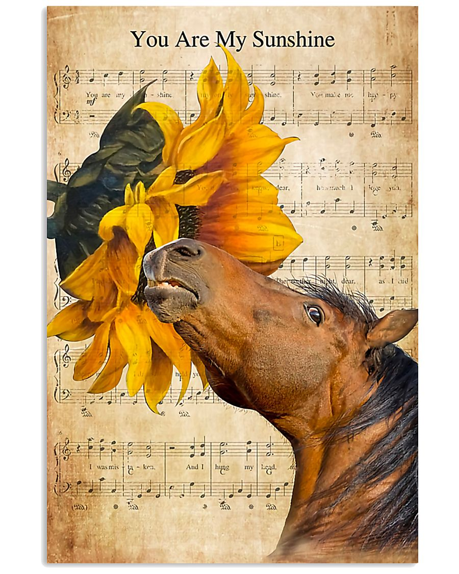 Horse Girl - You Are My Sunshine 11x17 Poster