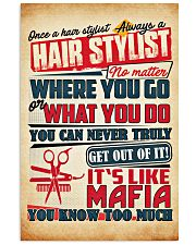 Hairdresser It's Like Mafia 11x17 Poster front