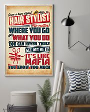 Hairdresser It's Like Mafia 11x17 Poster lifestyle-poster-1