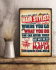 Hairdresser It's Like Mafia 11x17 Poster lifestyle-poster-3