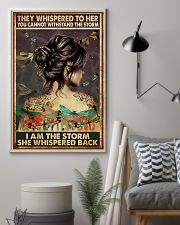 Yogi I Am The Storm 11x17 Poster lifestyle-poster-1