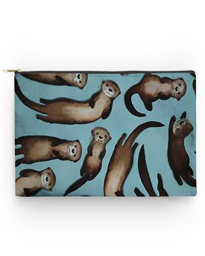 Otter Cute Family