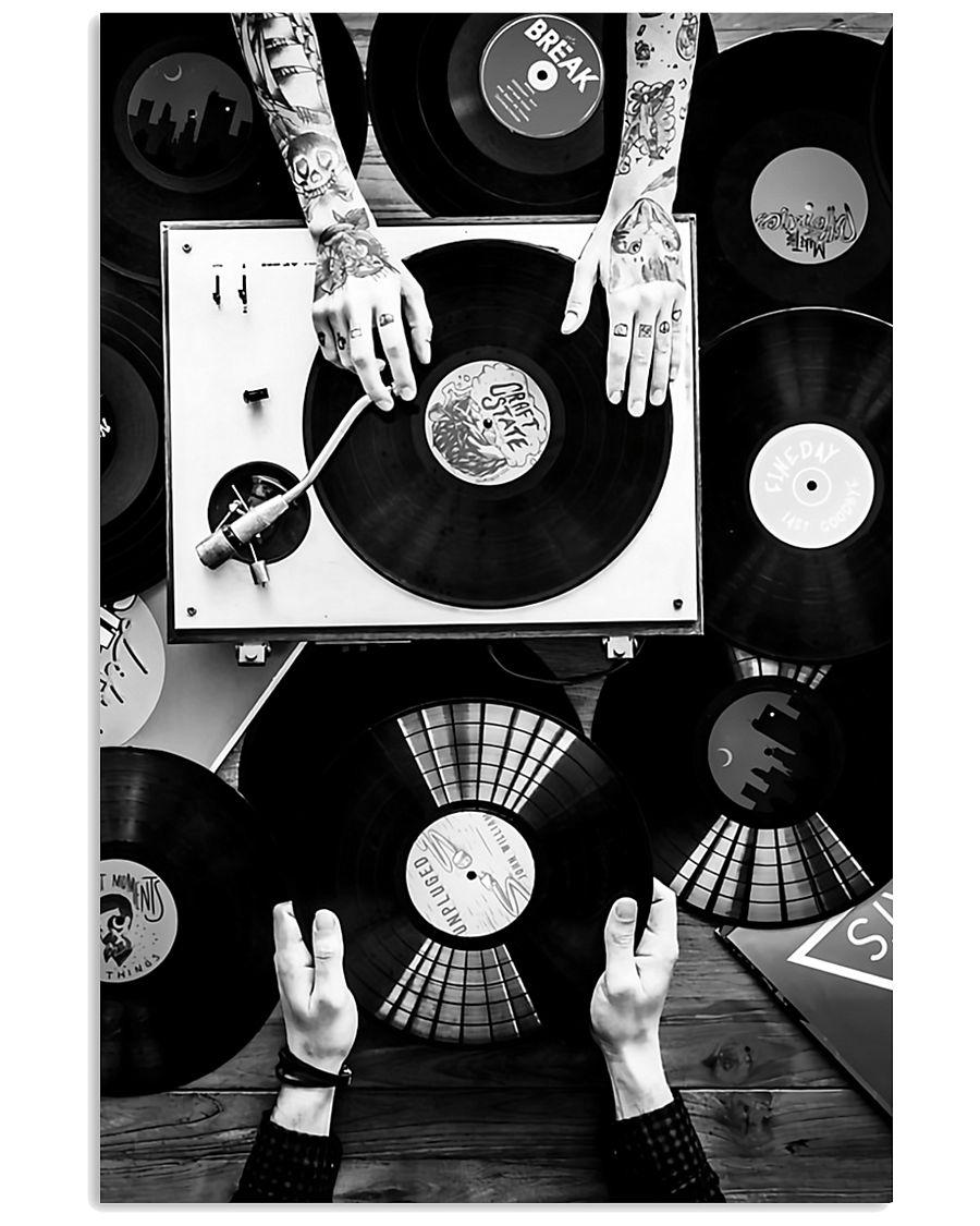 DJ Record 11x17 Poster