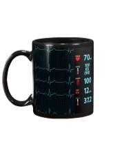 Paramedic ECG Screen Mug back
