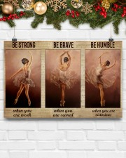 Ballet Dancer Be Humble When You Are Victorious  17x11 Poster aos-poster-landscape-17x11-lifestyle-28