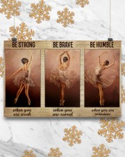 Ballet Dancer Be Humble When You Are Victorious  17x11 Poster aos-poster-landscape-17x11-lifestyle-30