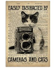 Easily Distracted By Cats And Camera Photographer 11x17 Poster front