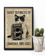 Easily Distracted By Cats And Camera Photographer 11x17 Poster lifestyle-poster-8