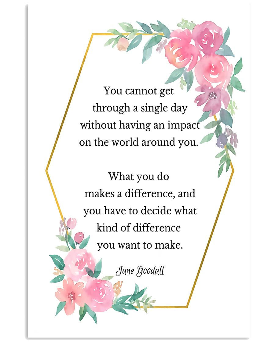 Social Worker What You Do Makes A Difference 11x17 Poster