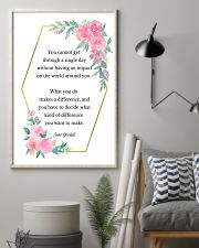 Social Worker What You Do Makes A Difference 11x17 Poster lifestyle-poster-1