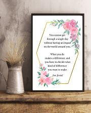 Social Worker What You Do Makes A Difference 11x17 Poster lifestyle-poster-3