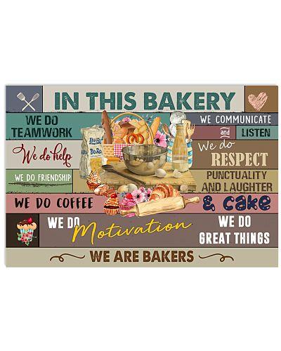 Baker In This Bakery