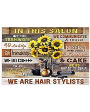 We Are Hairstylists Hairdresser  17x11 Poster front
