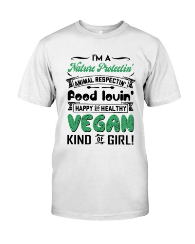 I'm a vegan kind of girl