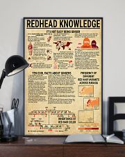 Redhead Knowledge 11x17 Poster lifestyle-poster-2