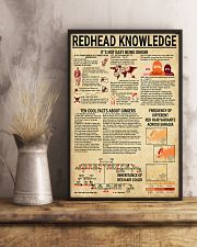 Redhead Knowledge 11x17 Poster lifestyle-poster-3