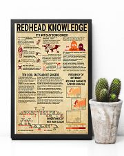 Redhead Knowledge 11x17 Poster lifestyle-poster-8